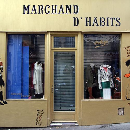 Marchand d'Habits / 2016