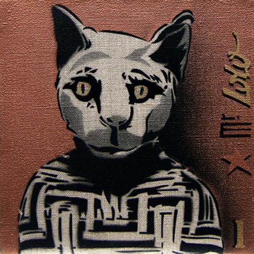 MOMIE DE CHAT (20x20cm) / 2011