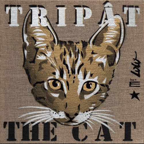 TRIPAT the CAT (20x20cm) / 2018
