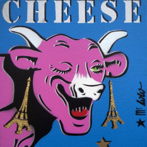 CHEESE PARIS (27x22cm) / 2012