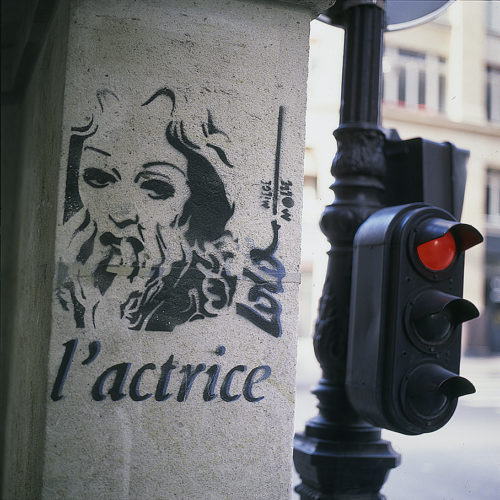 1989 / l'actrice / Paris (3e)