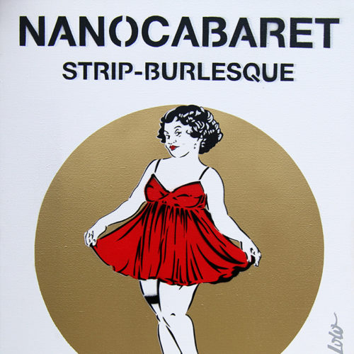 NANoCABARET Affiche (65x50) / 2012
