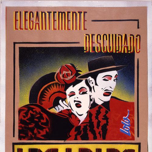 1990 / Los Lolos de Paris / Affiche originale