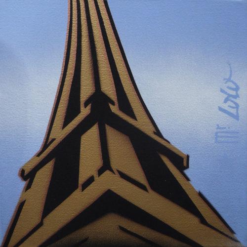 2012 / La Tour Eiffel by Day / 30x30