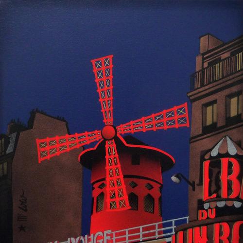2012 / Le Moulin Rouge / 61x50