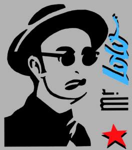 Mr. Lolo-Logo officiel autoportrait