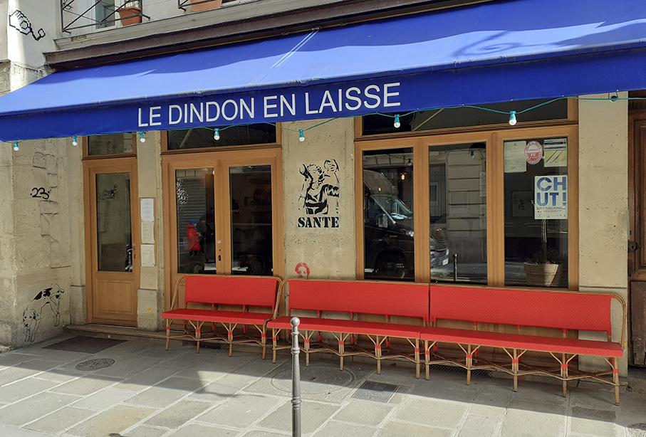 LE DINDON EN LAISSE / 2020